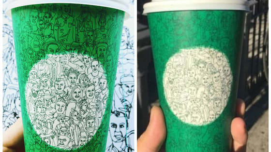 Every year, Starbucks' holiday cups find a new way to enrage customers. This year, the controversy centers around around a green cup representing unity. How do you feel about them?
