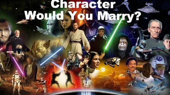 Star Wars : The Force Awakens tonight and we could not be more excited! Take this quiz to find out which Star Wars character you would be most likely to marry. **NO SPOILERS ARE IN THIS QUIZ**