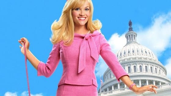 """According to Reese Witherspoon, """"Legally Blonde 3"""" -- if and when it ever gets made -- might see Elle Woods making a play for the Oval Office. She and Hillary Clinton might be more alike than you think ..."""