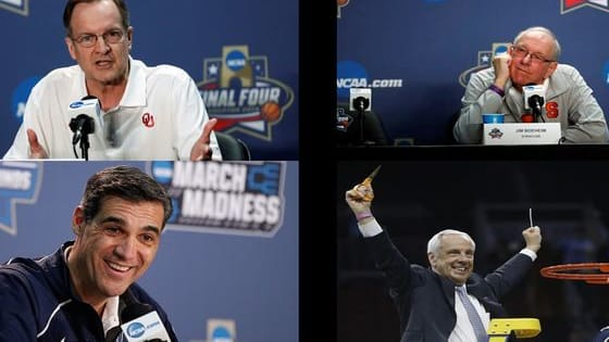 You've got a personality.  So do these coaches.  So let's match them up in our highly scientific poll and figure out which of these Final 4 Coaches you most resemble.