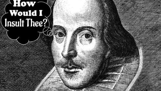 Shakespeare is widely regarded as the greatest writer in the English language and one of the world's most fantastic dramatists. But the great Shakespeare didn't just write beautiful poems and unforgettable plays, he also invented some of the best insults in history! How would Shakespeare insult you? Let's find out!