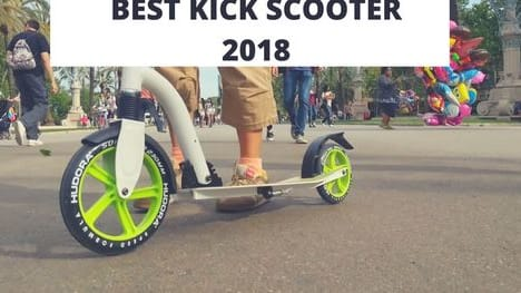 Kick scooters are still the fashionable, or 'cool', and reasonable mode of transportation that can be used to get from one place to another. Now, what would it be like if kick scooters with buffed-up specifications like anti-shock comfort grips, portability, warning bell.