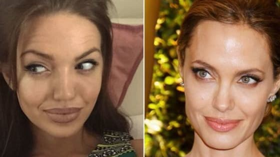 Chelsea Marr, an Angelina Jolie look alike,  is getting tons of attention after posting her doppelganger pics to Instagram.