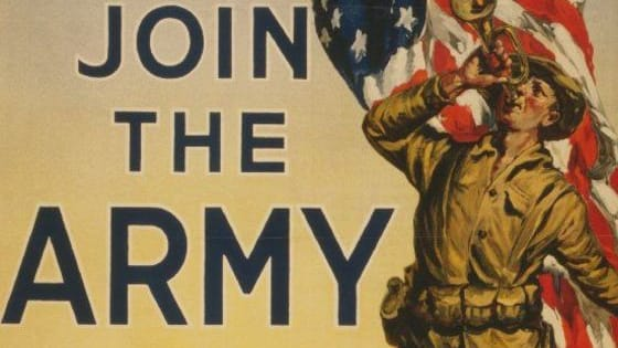 Signed by President Woodrow Wilson on May 18, 1917, The Selective Service Act reinstated the draft in the U.S. for the first time since the Civil War. Would you have been drafted in 1917? Take our quiz and find out. Note: Although Congress didn't pass the Women's Armed Services Integration Act until 1948, more than 33,000 women served as nurses and support staff during World War I.