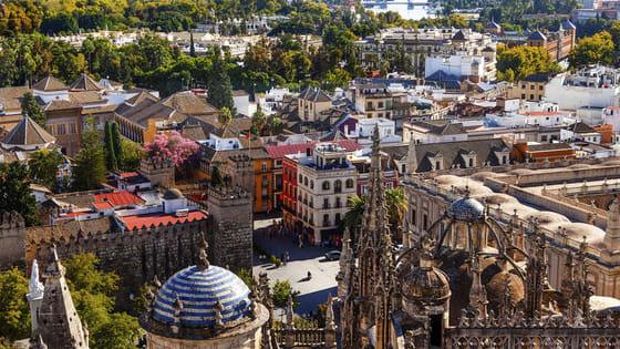¿Crees que conoces bien Sevilla desde las alturas? ¡Demuéstralo!