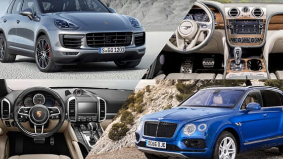 Which luxury SUV would YOU rather have, the Bentley Bentayga or Porsche Cayenne Turbo S?
