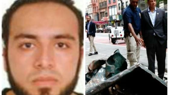 Ahmad Khan Rahami of Elizabeth, New Jersey, is now being questioned after being confirmed on footage of the bombing in Chelsea and a backpack full of unexploded pipe bombs was found in the Elizabeth train station.