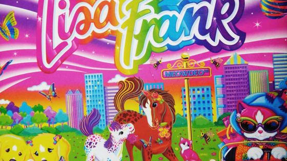 Remember all your old folders covered with rainbow unicorns and neon leopards? Well, hold on to your colored pencils because there's a Lisa Frank adult coloring book coming that will be full of them!