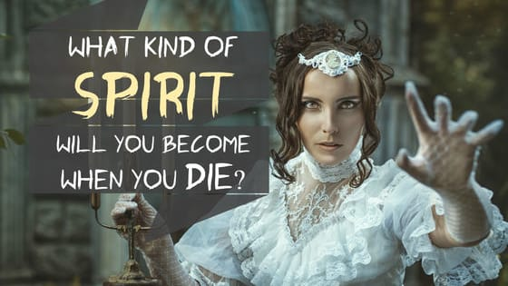 Will you become a loved one's Guardian Angel? Haunt your boss as a Poltergeist? Or maybe roam the forests as your Spirit Animal?