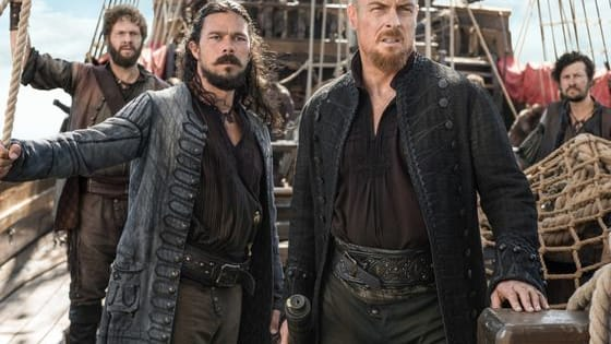 Black Sails is the highly acclaimed Starz! series that will set sail again this Sunday, January 29th at 9pm EST!