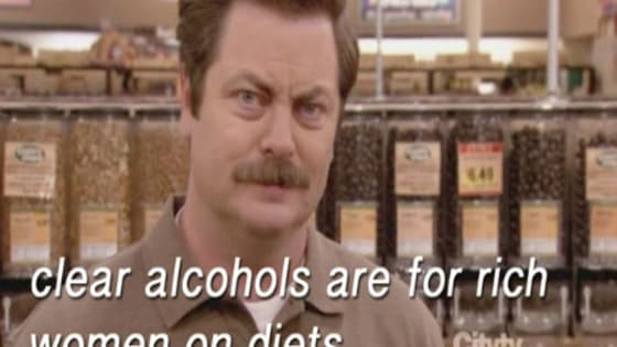 """""""Another word for jokes is lies."""" - Ron Swanson (Parks and Recreation)"""