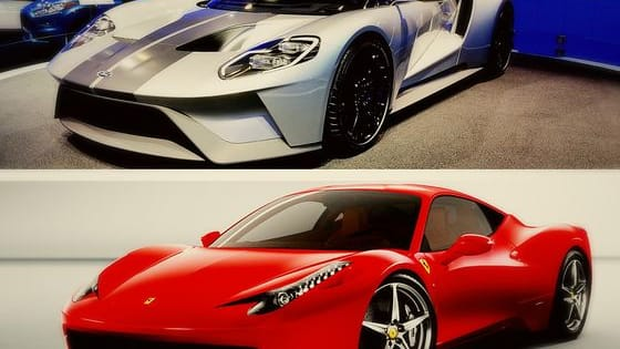 This is an old school Ferrari VS. Ford battle that has just been revived. The Ford GT and the Ferrari 458 is closely matched in horsepower and should be a GREAT fight!