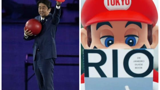Shinzo Abe, the Prime Minister of Japan, is usually a pretty stately guy, but at the Olympic closing ceremonies in Rio, he surprised everyone by having a little fun!