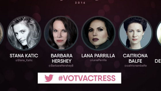 Vote for your favorite nominee in the Voice of TV Awards now! #VoTVAwards