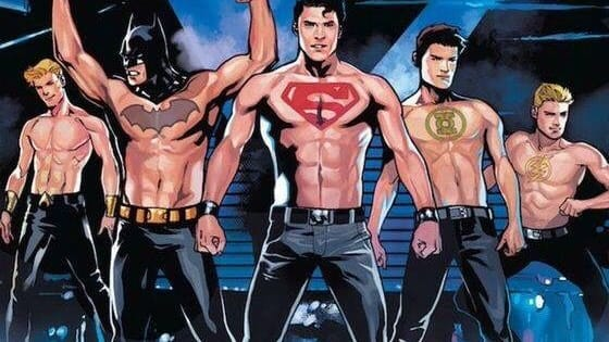 We can't ALL marry Batman. All male superheroes. For straight girls and gay guys!