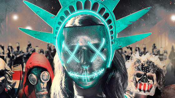 The Purge: Election Year lands on Sky Cinema on Virgin TV this week, featuring some extremely terrifying masks. Test your knowledge of film facial accessories with our quiz! Want more? www.virginmediapresents.com