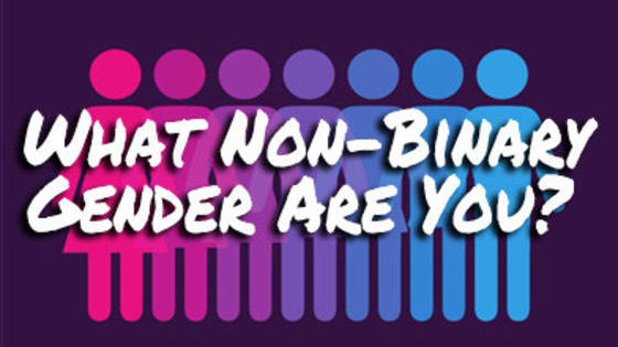 Non-Binary genders are gender identities that don't fit into the gender-binary (aka female and male). Which one do you represent the most?