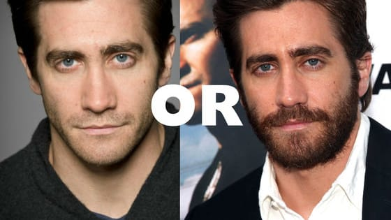 Do you prefer these Hollywood hotties with a few whiskers? Or smooth and soft like a baby's bottom?