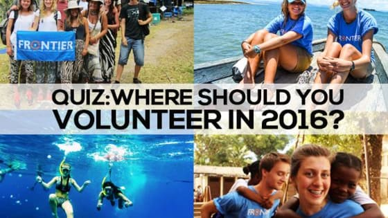 Thinking about volunteering abroad next year, but stuck for ideas? Take our quiz and find out where you should be heading!