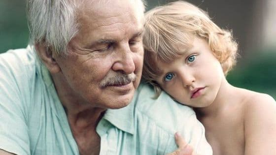 """Photographer Ivette Ivens captures the wonder of grandchildren's relationships with their grandparents in stunning series, """"Generations."""""""