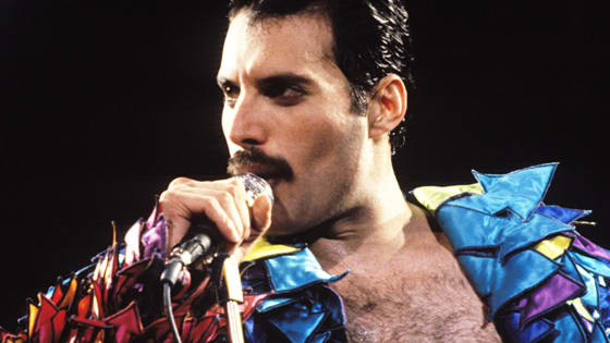 Freddie Mercury is one of the greatest musicians of rock history. Let's take some time to appreciate his immense talent with a few great Queen videos!