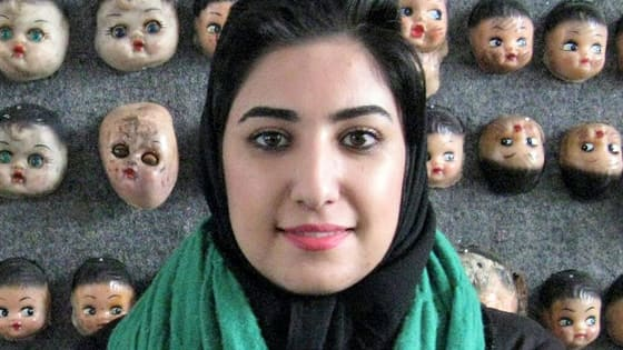 "Atena Farghadani is already serving a ludicrously lengthy sentence for her artwork depicting the Iranian government as animals, and it has now been extended because she shook hands with her male lawyer during a prison visit, which is illegal in Iran. The current crime she's being charged with is ""illegitimate sexual relationship short of adultery"". What do you think of this?"
