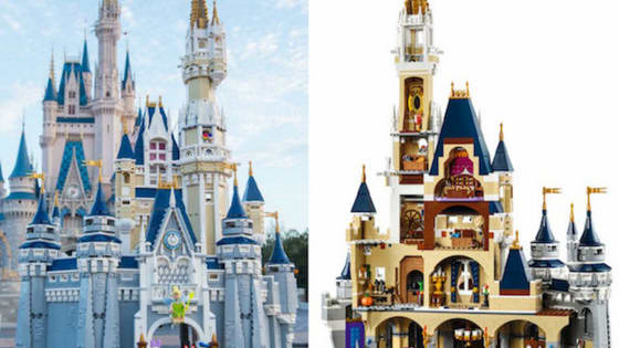 Want to bring the happiest place on earth to your home? Just build it!