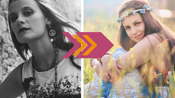 Which flower is at the center of your spirit, and what does that say about your personality? Create your hippie lifestyle, and we'll tell you!