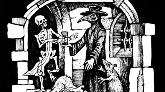 The Great Plague that lasted from 1665-1666 wiped out a quarter of London's population, and was only stopped by the Great Fire of London.