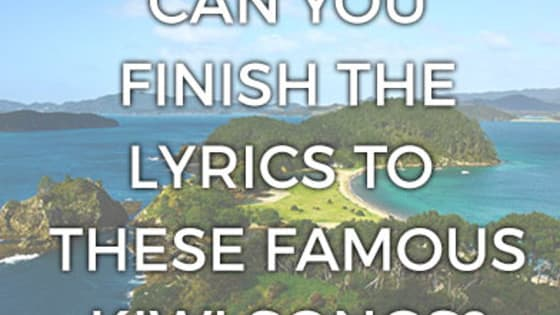 How well do you think you know these iconic kiwi songs?