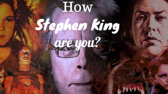 How much of a horror guru are you? Do you love Stephen King and can you name these stills from some of his most famous films!
