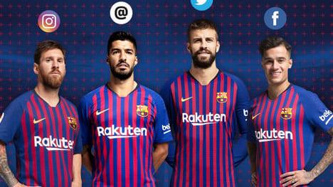 We run through the social media accounts of every Barça star