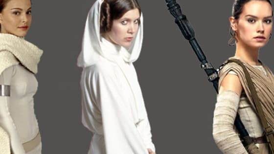 Are you Padme, Leia or Rey ?