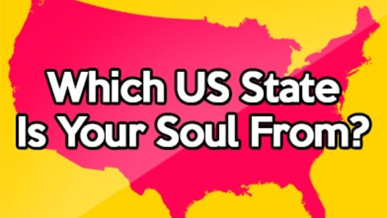 Ever wondered which American state your soul is from? Answer these 10 simple questions to find out!
