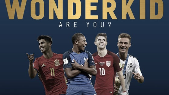 Forgotten about the World Cup and international football already? Why not have a go at being a wonderkid with our quiz.