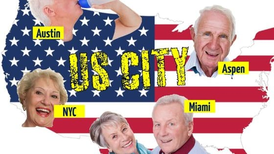 Which city will best suit YOU in your old age? Let's find out!