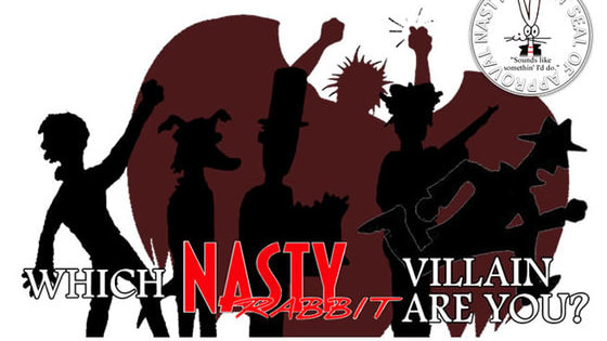 From pesky little girls to supernatural symbols of mortality, there are a myriad of villains in the Nasty Rabbit universe to be dealt with! Which one are you?