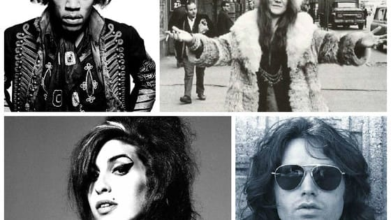 Are you Jim Morrison, Brian Jones or maybe Amy Winehouse?