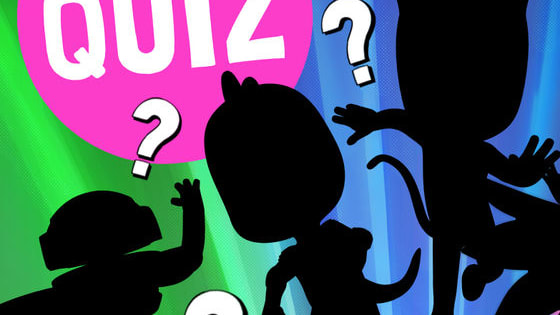 Oh no! Some of the PJ Masks have been hidden! Can you work out who they are based on the shapes they make?