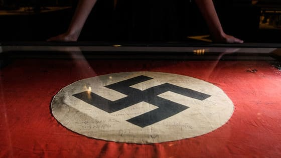 A recent vandalization of a Ukrainian mall uses Nazi symbolism to make a point. But what point is that? Does this group not remember what actual Nazis stood for?