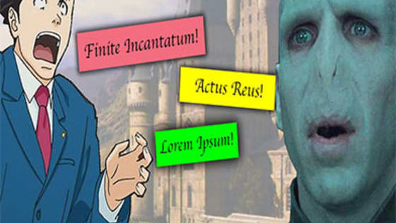 Many legal terms are in Latin, as are Harry Potter spells. Can you tell the difference?