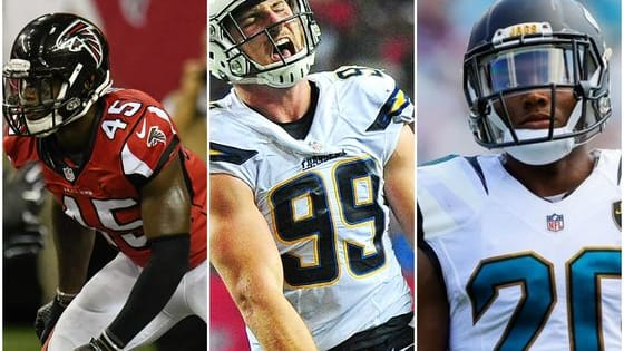 A lot of the rookies from the 2016 NFL draft class have made a big, immediate impact around the league. Which one has made the biggest impact on the defensive side of the ball during the 2016-17 season?  Cast your vote for your favorite to win the 2017 NFL Defensive Rookie of the Year award and be sure to share!