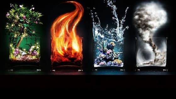 Water, earth, fire, air...  Which of the four elements is your personality most linked to?  By answering these few questions honestly, you can find out which element best represents your heart, mind, and spirit.
