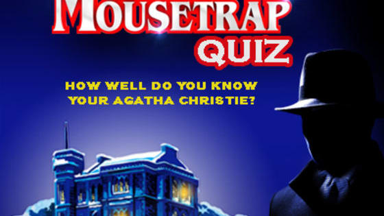 To celebrate the 60th Anniversary production of The Mousetrap visiting the Belgrade Theatre this November, we're testing your knowledge on Agatha Christie! From Hercule Poirot to Miss Marple, find out how well you know the Queen of Crime Fiction...