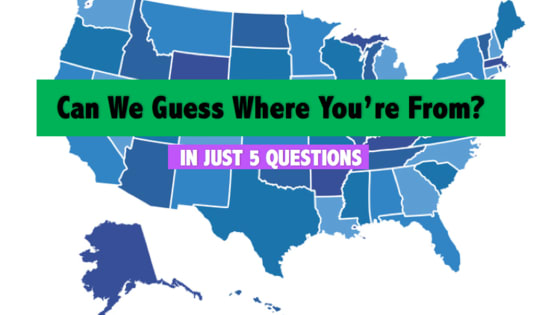 These insightful questions will determine which region of the US you're originally from!
