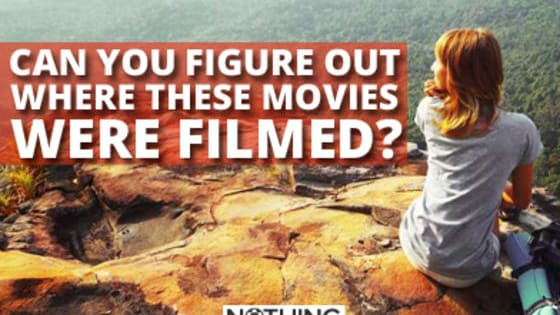 Do you consider yourself well traveled? How well do you really know your geography? Pick the filming locations from the scenes of these films. Also, we bet when you finish this quiz you'll be super inspired to go on vacation.