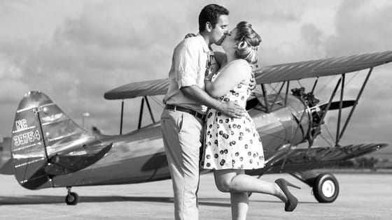 Who's the high-flying lover ready to whisk your heart up into the clouds?   Or lower, depending on how good your soulmate was at flying and/or inventing planes.
