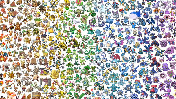 There are starter pokemons from Kanto, Johto, Hoenn, Sinnoh, Unova, Kalos. I also ask you your favorite Eeveelution, your favorite type, your favorite ship!