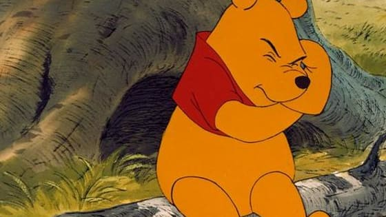 Can you tell which beloved Winnie the Pooh character matches up with these color swatches?