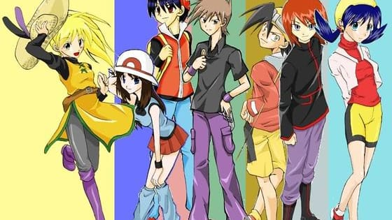 The Pokemon Adventures manga is AMAZING. Obviously, this quiz can't cover ALL of the main characters, so for now we'll just have Red, Blue, Green, Yellow, Gold, Silver and Crys. But which one of these ones are you?